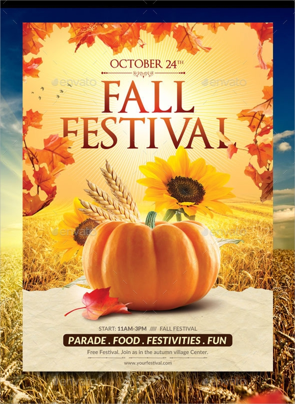 Fall Flyer Template - 20+ Download In Vector EPS, PSD