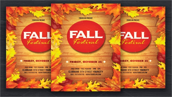 Fall Event Flyer Template Free from images.sampletemplates.com