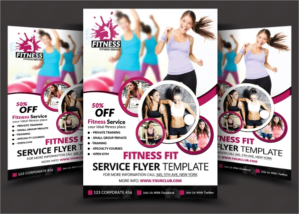 psd format flyer template