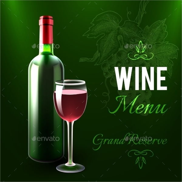 13  sample wine menu templates