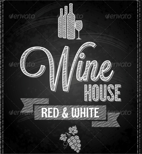 Sample Wine Menu Template   Download Documents In Psd Pdf