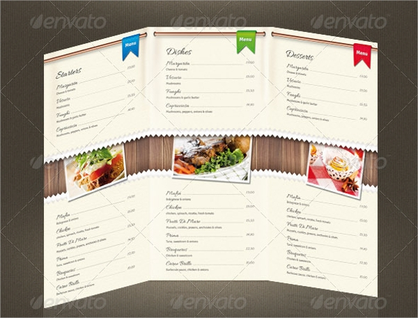 awesome pizza menu template