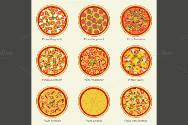 fantastic pizza menu template