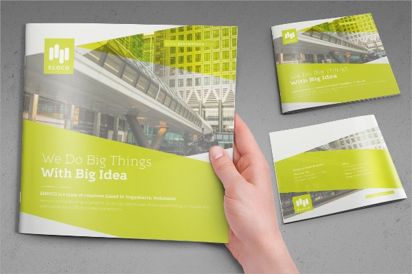 spectacular business square brochure