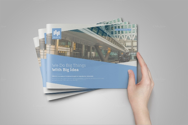 business landscape brochure