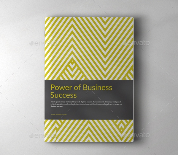 attractive business brochure template