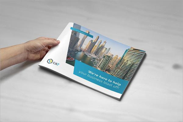 business brochure vector eps format