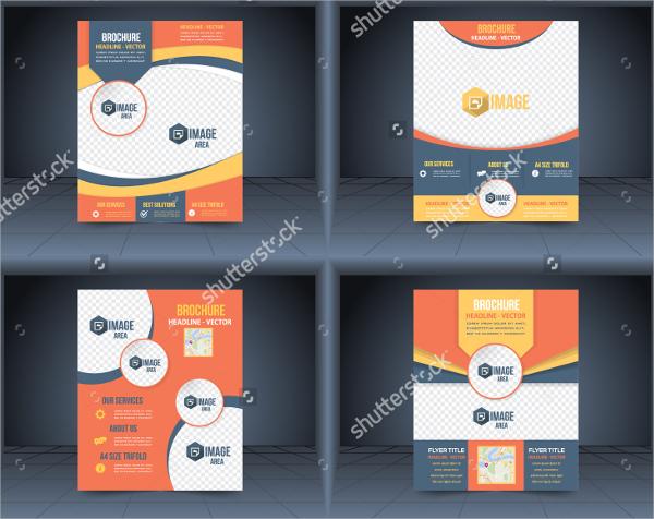 beautiful business brochure template