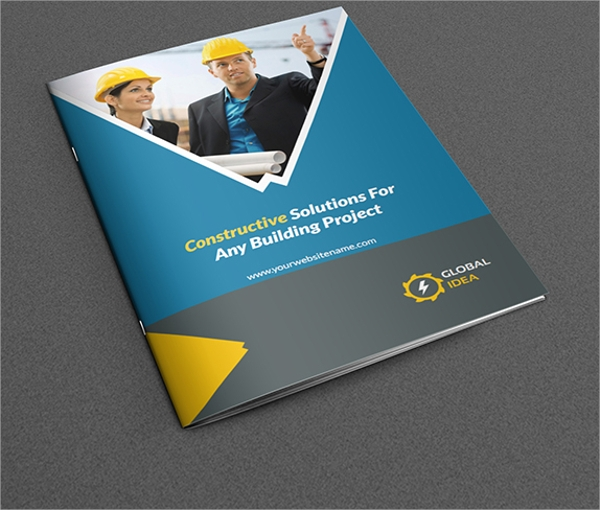 Business brochure template 20 download in vector eps psd construction business brochure template wajeb Images