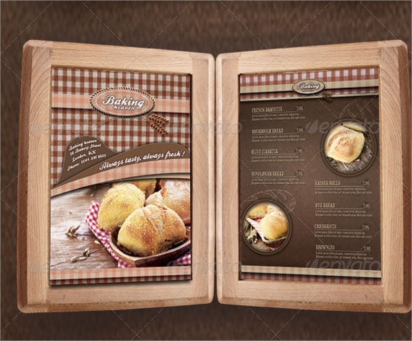 Sample Bakery Menu Templates Related Keywords & Suggestions