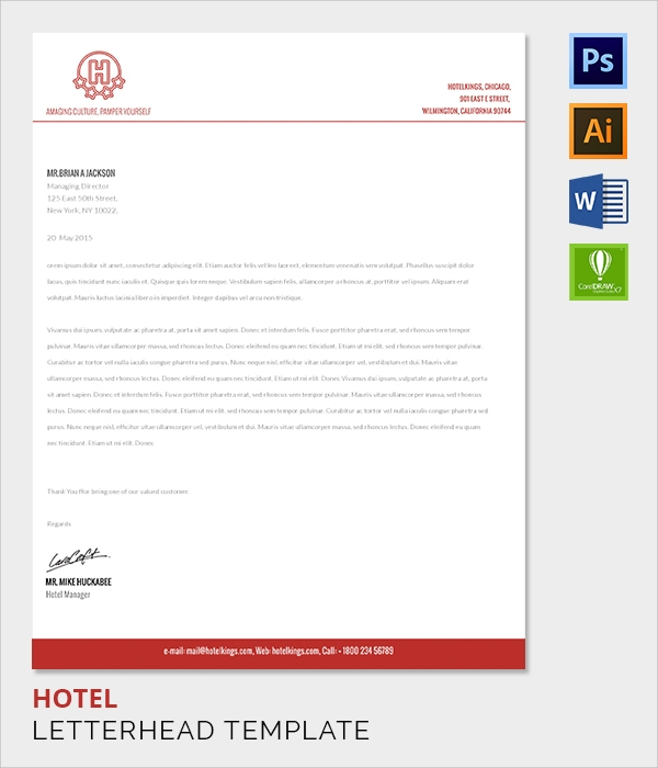 ... Company Letterhead Template - 37+ Download in PSD, AI Illustrator, PDF