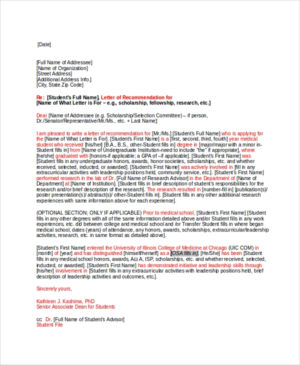27 letter of recommendation in word samples sample templates letter of recommendation for fellowship spiritdancerdesigns Images