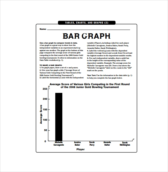 bar graph paper with axis