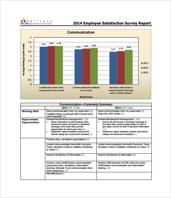 Sample Survey Report Template - 7+ Free Documents in Word, PDF