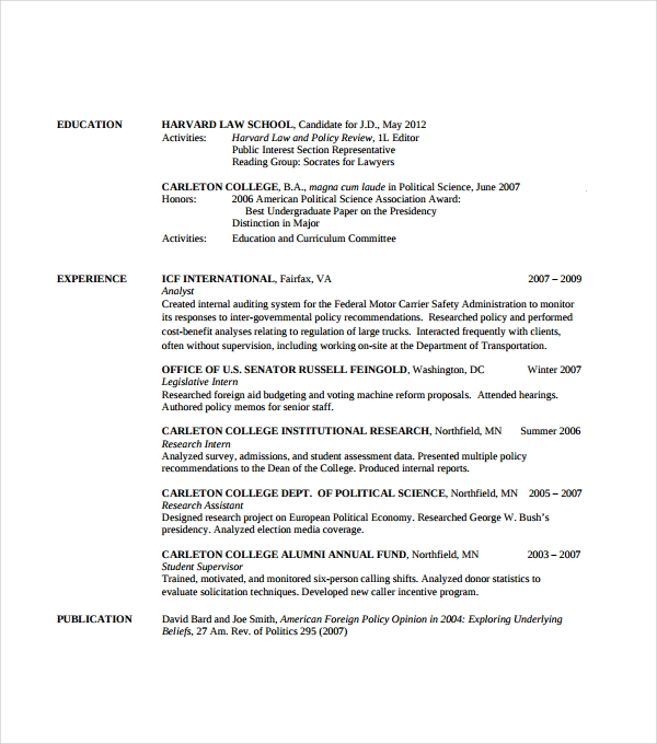 sample resume template 53 download in psd pdf word - Lawyer Resume Template Word