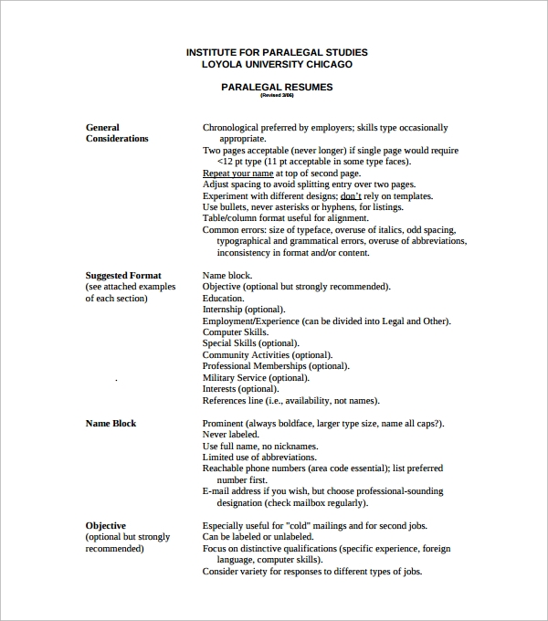 simple paralegal resume1