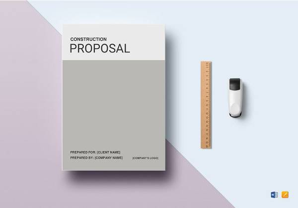 construction proposal template1