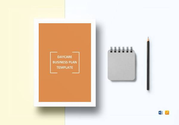 daycare business plan template