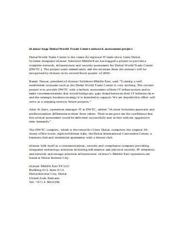 general network assessment