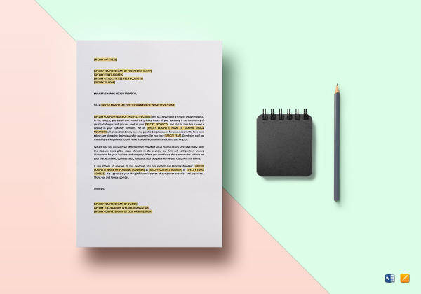 graphic design proposal template1