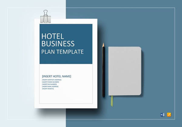 hotel business plan template to print