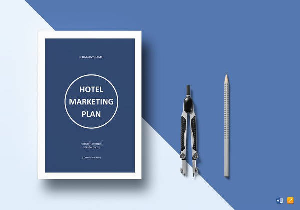 hotel marketing plan in word