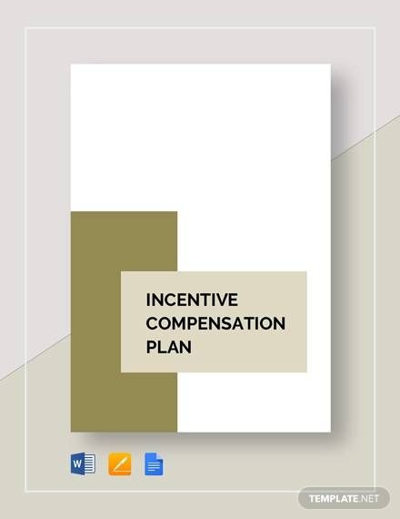 incentive compensation plan example