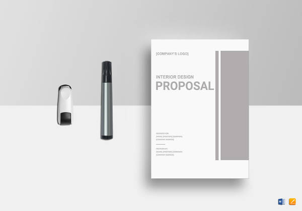 interior design proposal template1