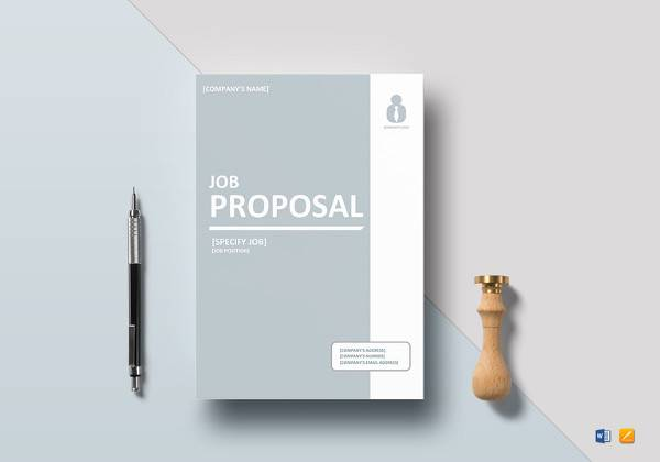 Job Proposal Template  Free Job Proposal Template