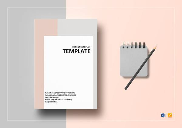 patient care plan template