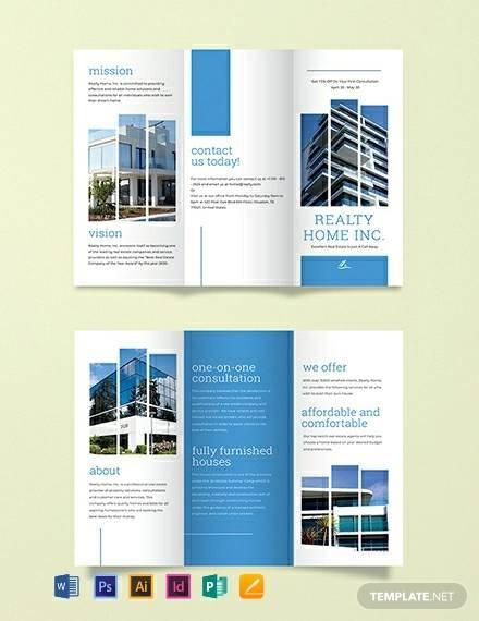 realtor tri fold brochure template