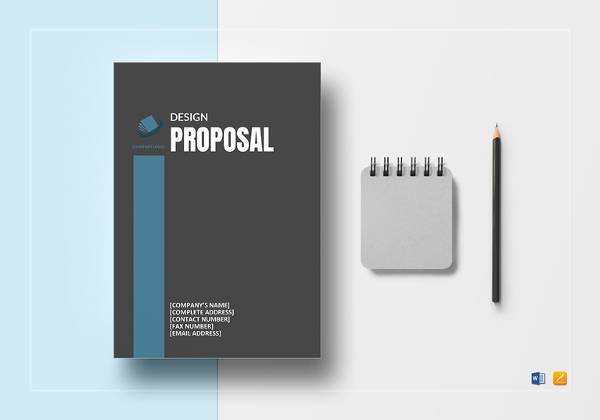 sample design proposal templat