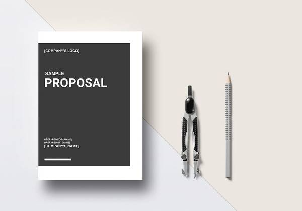sample proposal word template
