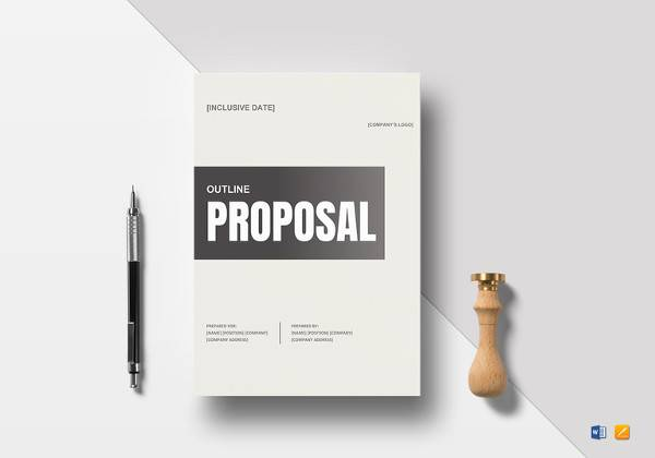 simple proposal outline to print