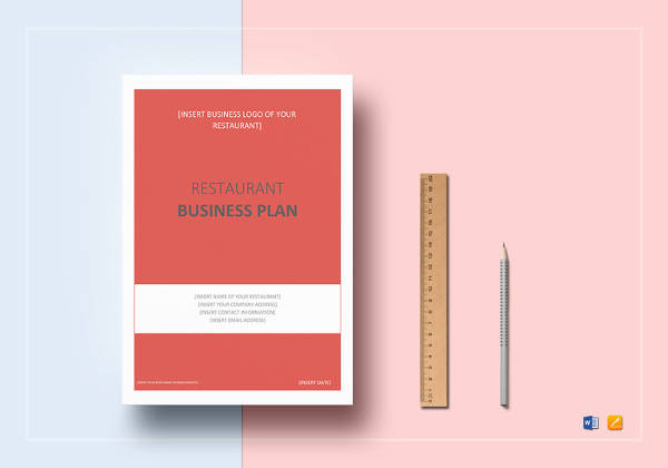 simple restaurant business plan template