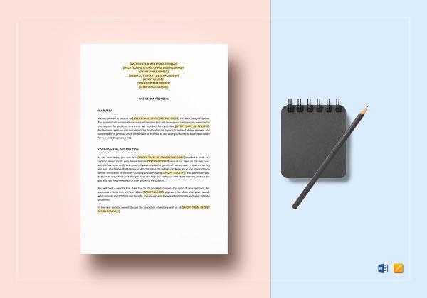 web design proposal template2