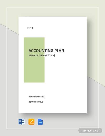 accounting plan