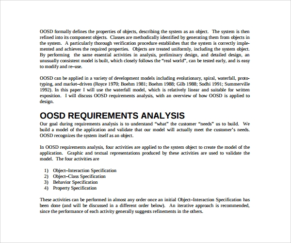 Requirement Analysis Templates to Download