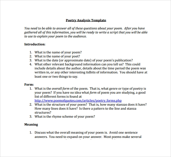 Poetry Analysis Essay: Smart Student's Guide with Example and Tips