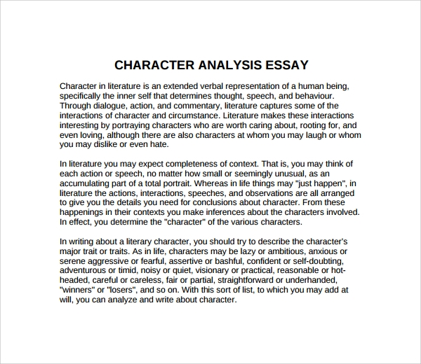 Character Trait Essays: Examples, Topics, Titles, & Outlines
