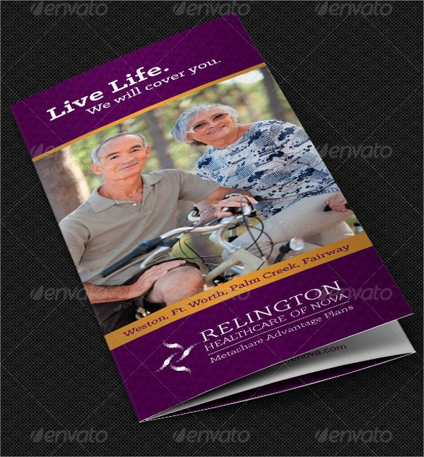 healthcare company brochure