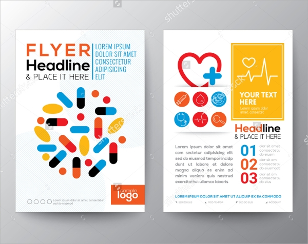a4 size healthcare brochure