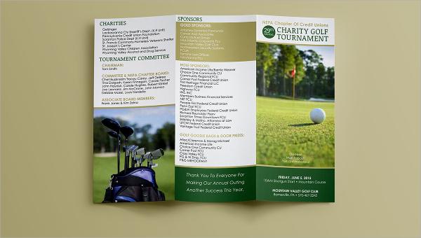 Golf Tournament Brochure | Golf Tournament Brochure 20 Download In Vector Eps Psd