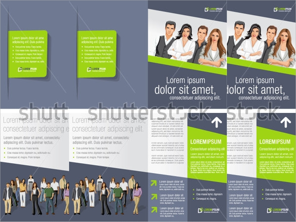 business advertising brochure template