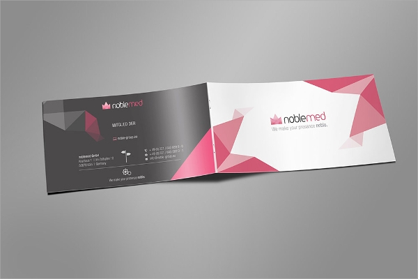 marketing kit brochure