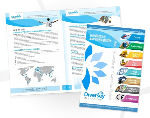 20 marketing brochures sample templates for Marketing brochure design