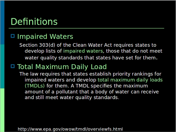water pollution powerpoint template