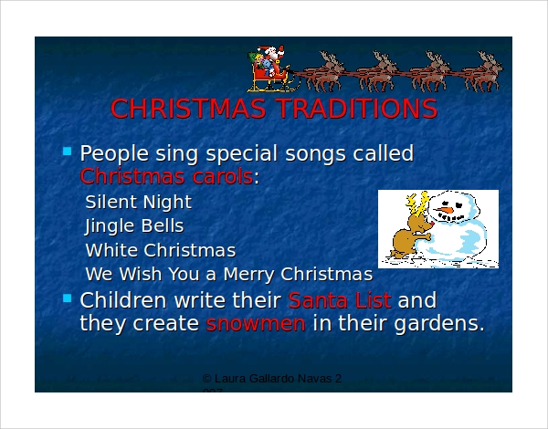 christmas religious powerpoint template