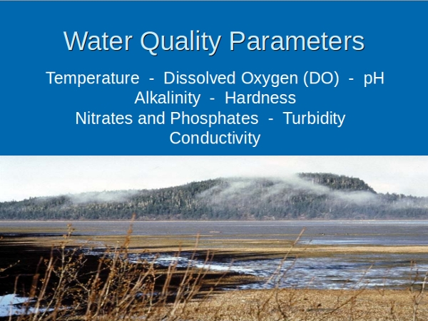 water chemistry powerpoint template
