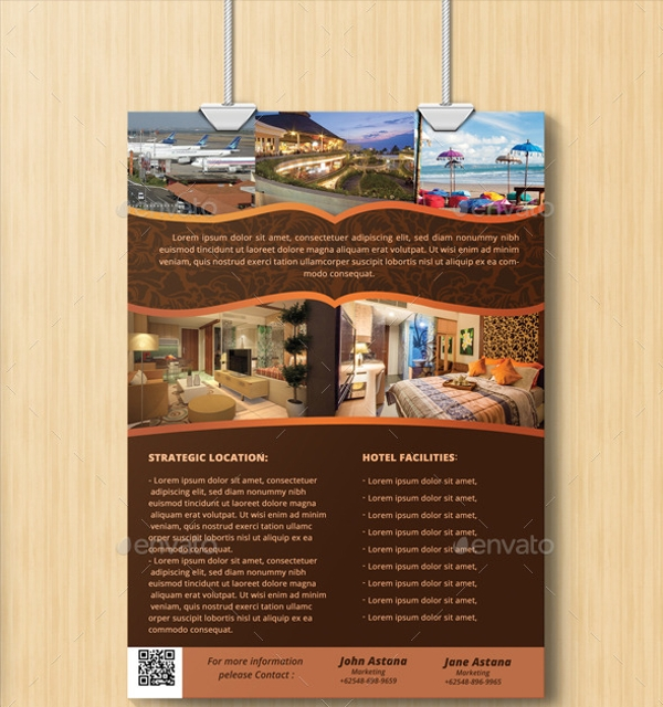 Apartment Flyer Templates Sample Templates - Hotel flyer templates free download